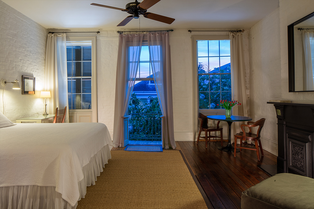courtyard in orleans parisian and new garden lower ss district breakfast bed inn the